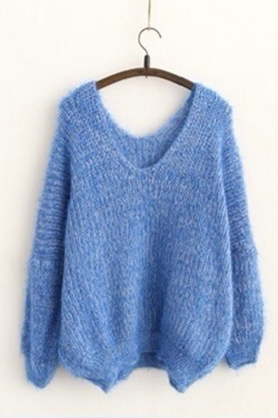 tws16q-l-610x610-sweater-sky+blue-jumper-knit-blue+jumper-tumblr-fashion-light+blue-baggy+sweater
