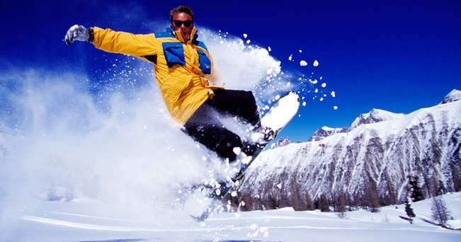 Skiing, Snow Boarding. Image shot 1995. Exact date unknown.